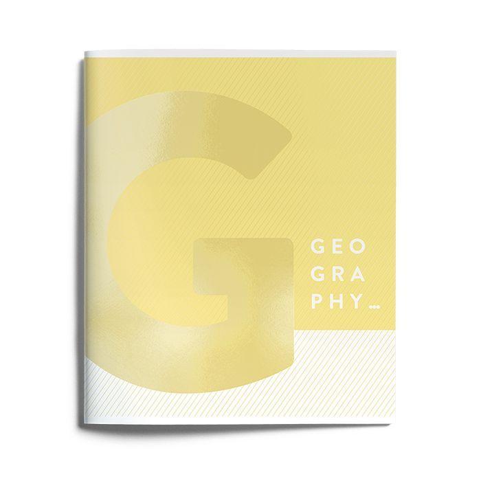 Тетрадь Schoolformat 48 листов, клетка, KNOW-HOW География, мелованный картон, матовая ламинация, выборочный УФ-лак