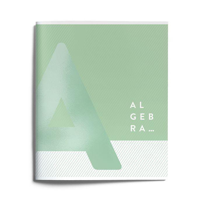 Тетрадь Schoolformat 48 листов, клетка, KNOW-HOW Алгебра, мелованный картон, матовая ламинация, выборочный УФ-лак