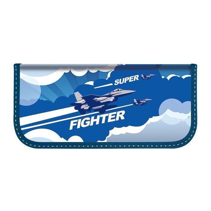 Пенал 1 секционный средний Schoolformat AIR FIGHTER 190х90 для мальчиков