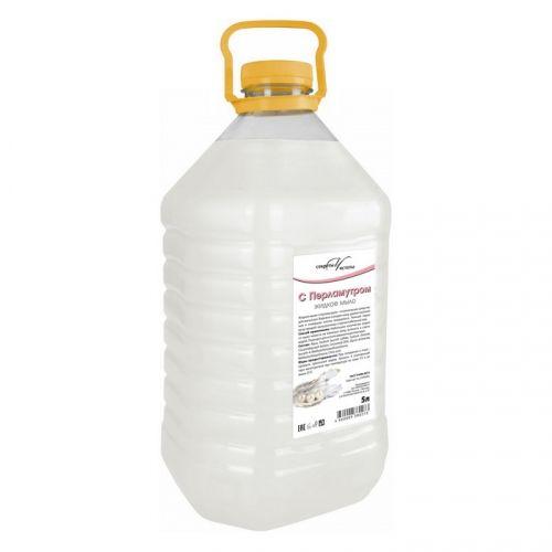 Мыло жидкое СЕКРЕТЫ ЧИСТОТЫ перламутровое 5 л