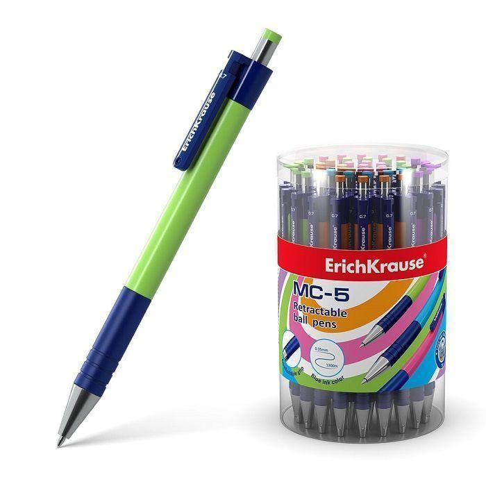 Ручка шариковая автоматическая ErichKrause MC-5 50 шт/упак.