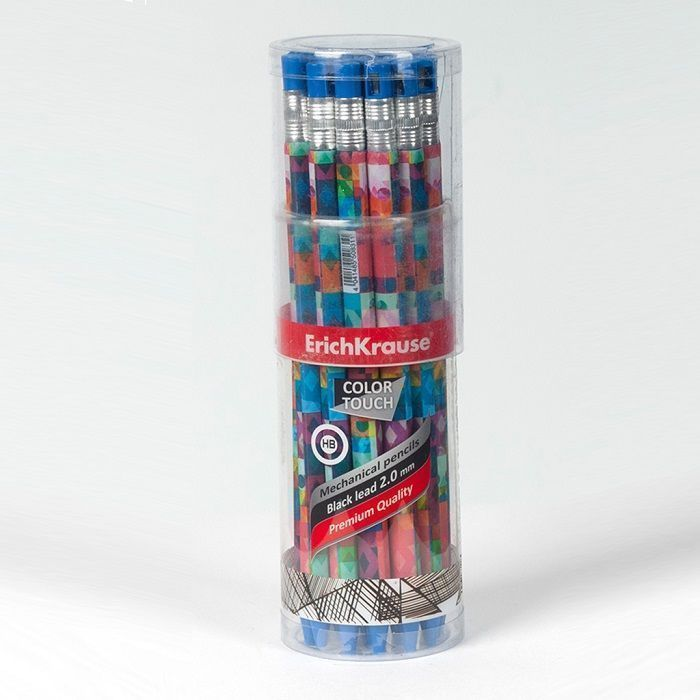 Карандаш механический ErichKrause COLORTOUCH PATCHWORK 2,0 НВ