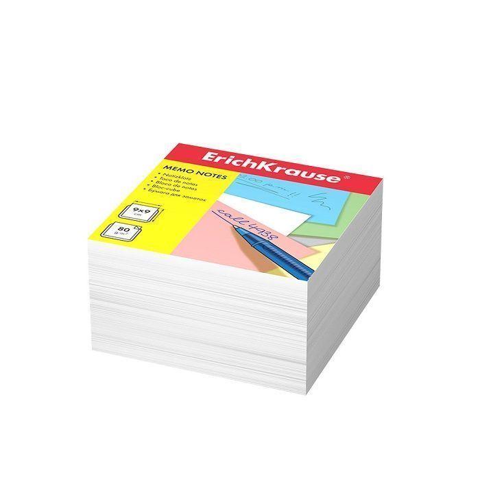 Бумага для заметок ErichKrause, 90x90x50 мм