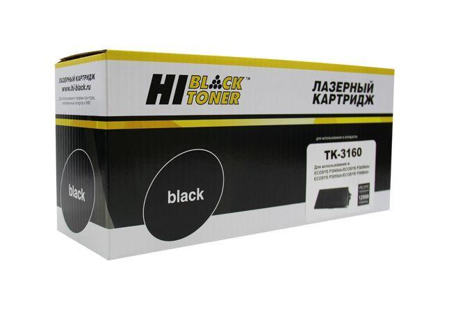 Тонер-картридж Hi-Black для Kyocera P3045dn/P3050dn/P3055dn, 12,5K, с/ч