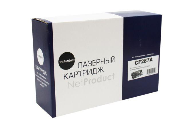 Картридж NetProduct N-CF287A для HP LJ M506dn/M506x/M527dn/M527f/M527c, 9K