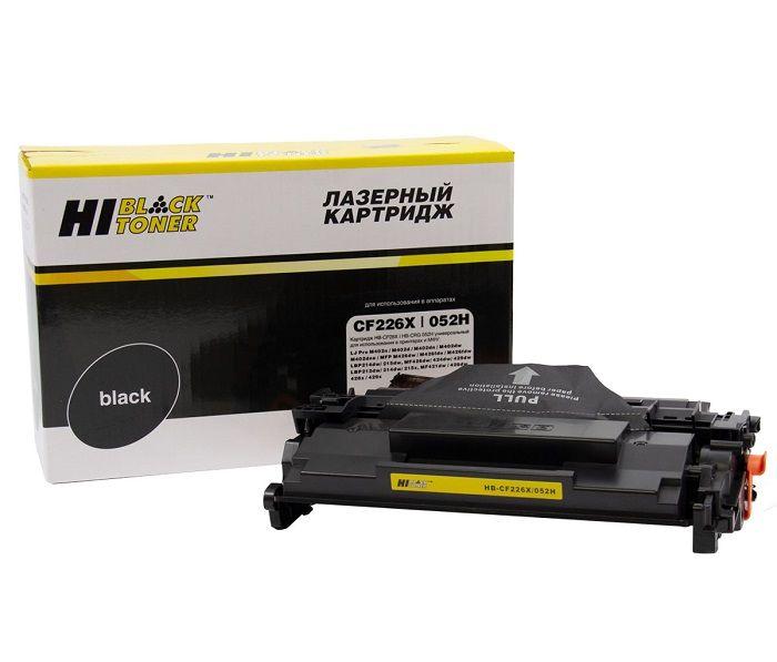 Картридж Hi-Black HB-CF226X/CRG-052H для HP LJ Pro M402/M426/LBP-212dw/214dw, 9,2K