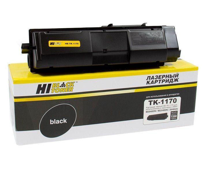 Тонер-картридж Hi-Black HB-TK-1170 для Kyocera M2040dn/M2540dn, 7,2K, с чипом