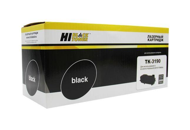 Тонер-картридж Hi-Black HB-TK-3190 для Kyocera P3055dn/P3060dn, 25K, с чипом